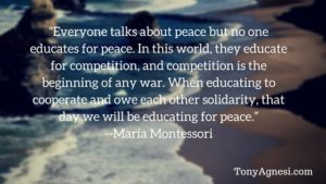 Everyone Talks About Peace