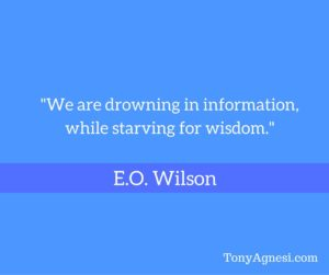 We are Drowning in Information