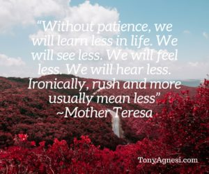 Without Patience