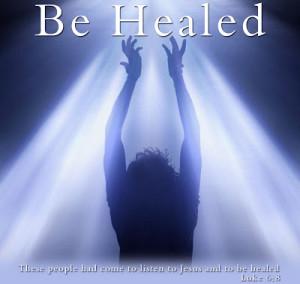be healed
