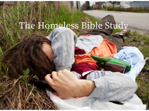 The Homeless Bible Study(1)