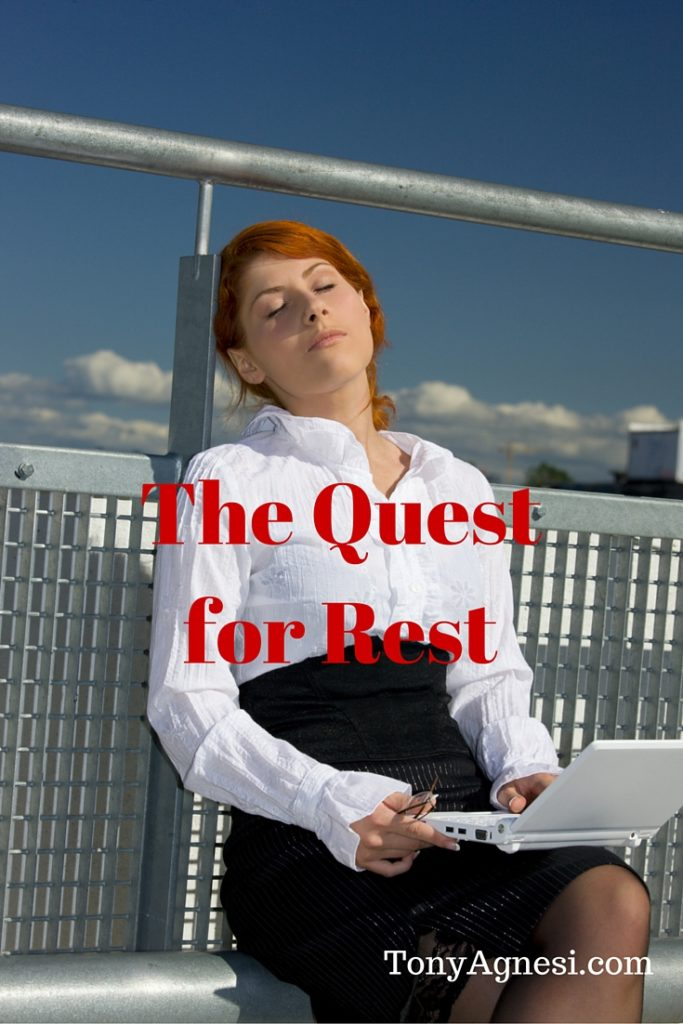 The Quest for Rest(1)