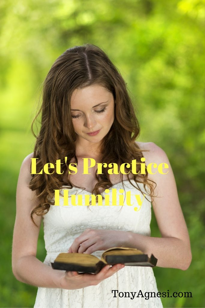 Let's Practice Humility