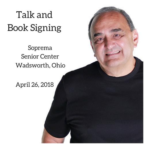 Soprema Senior Center Talk and Book Signing