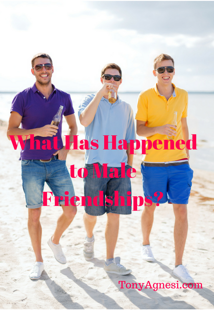 What Has Happened to Male Friendships?